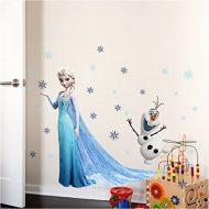 Frozen pegatinas Elsa y Olaf dormitorio