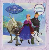 portada libro Frozen primero lectores