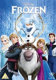 Portada pelicula DVD Frozen versión Reino Unido