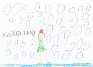 Anna pasa frio en el Reino de Arendelle
