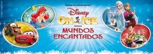 Cartel Disney On Ice España Frozen 2016